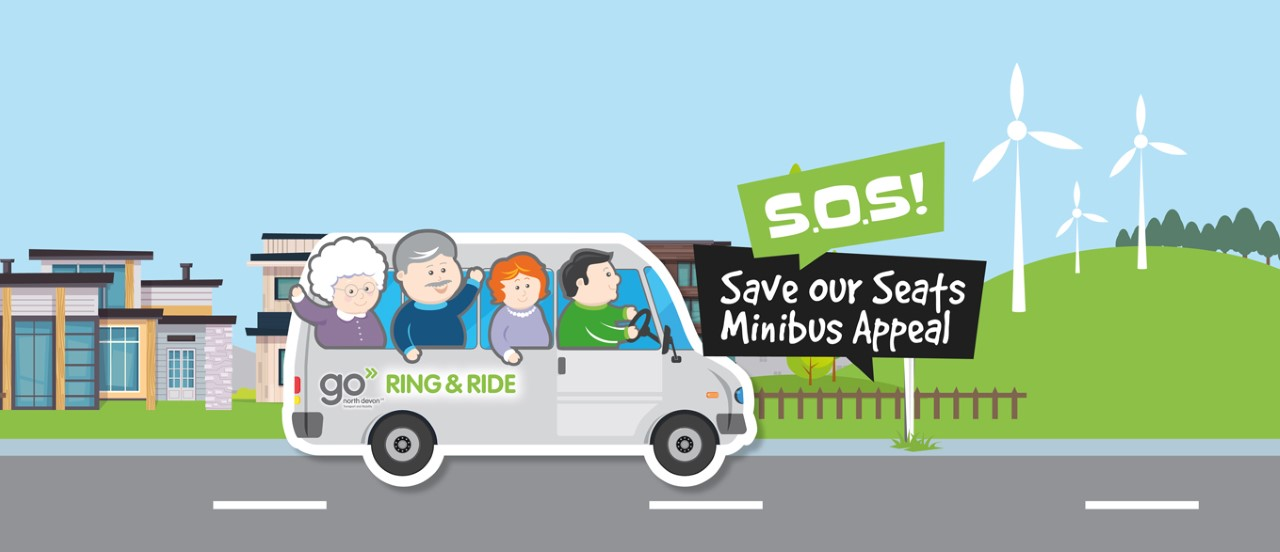 Go North Devon Save Our Seats Minibus Appeal